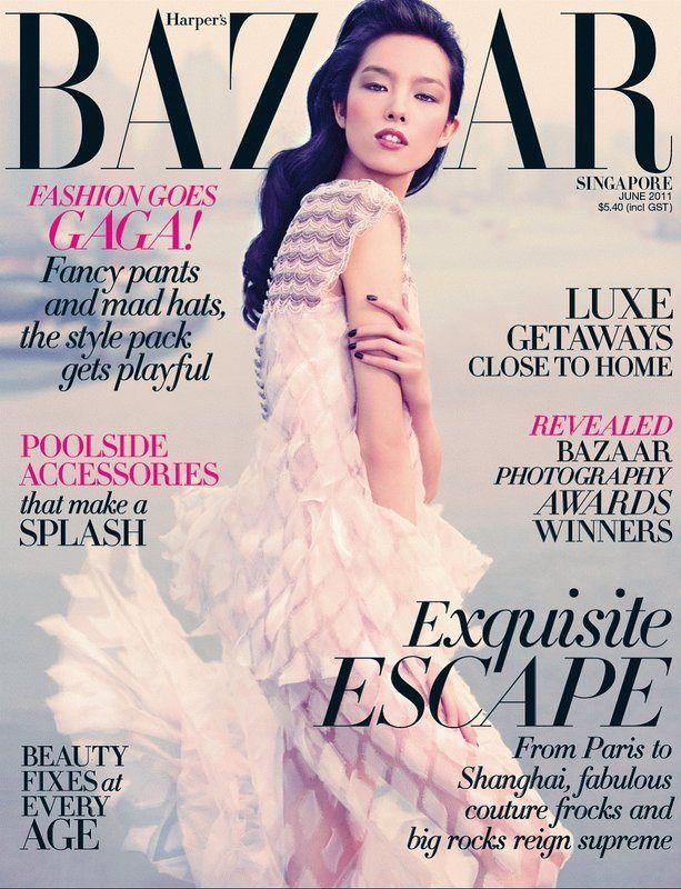 Fei Fei Sun for Harper's Bazaar Singapore June 2011