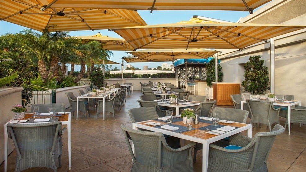 The Roof Garden Rooftop Restaurant The Peninsula Beverly ...