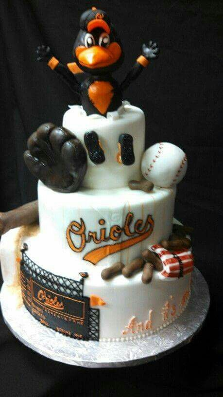 Oriole Cake Baltimore Sports Pinterest