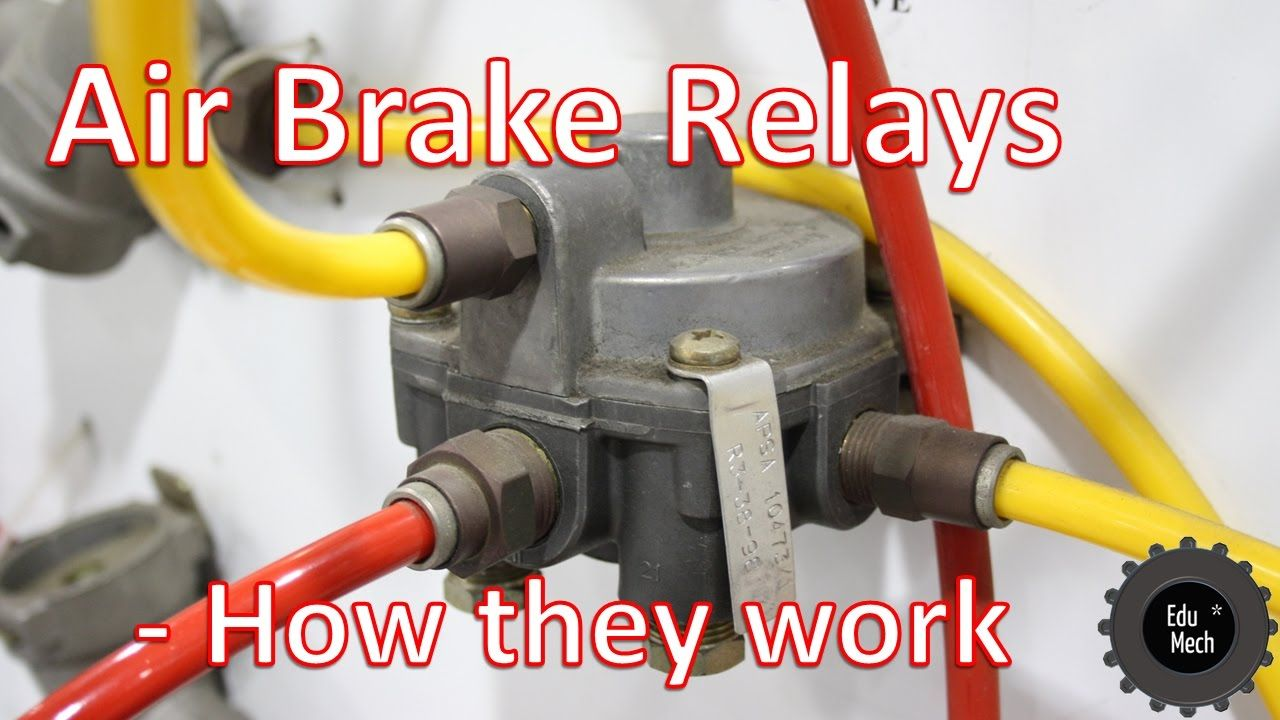 Air Brake Relay How it Works. Air braking systems and