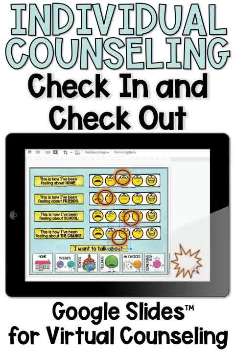 This interactive lapbook is a great way to start and end individual counseling sessions. It gives you a quick idea of how the student is doing when they come in and where their head's at when they leave. This tool is something that can be used with each session with students - consistency in counseling sessions can be very therapeutic!