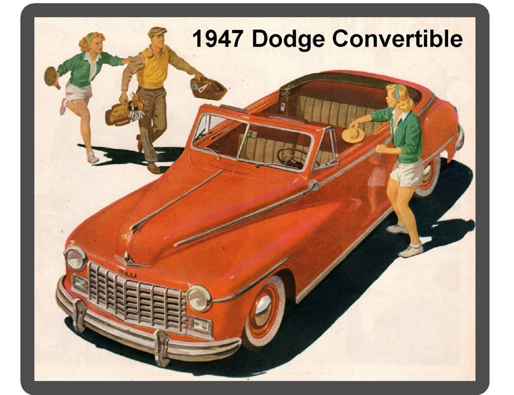 Tool Box  Magnet Dodge Power Wagon Refrigerator