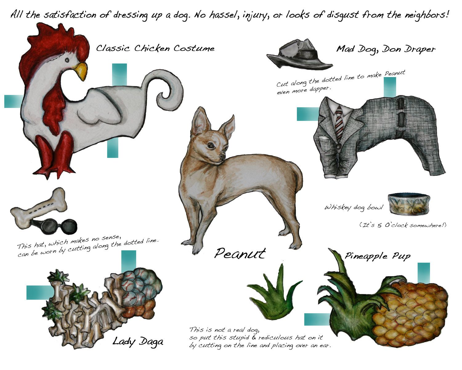 Paper doll doggy styles paper dolls animals pinterest
