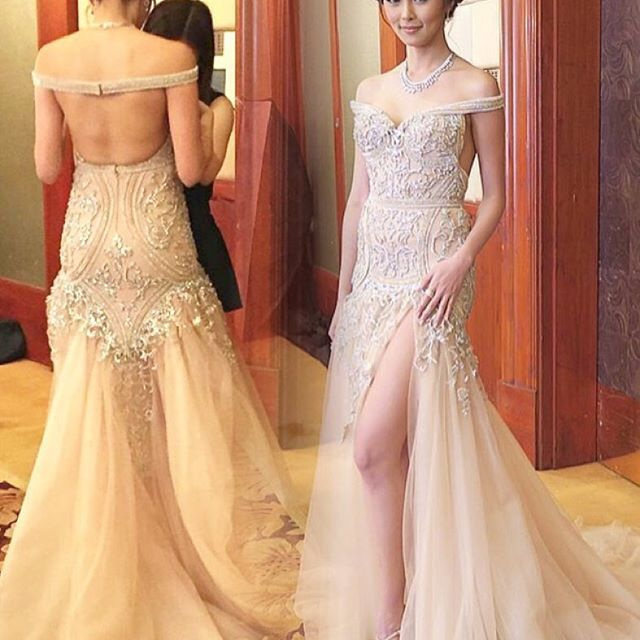 Kim Chiu at Star Magic Ball 2015 | My Ka-Look-Alikes! Kim, Liza and ...