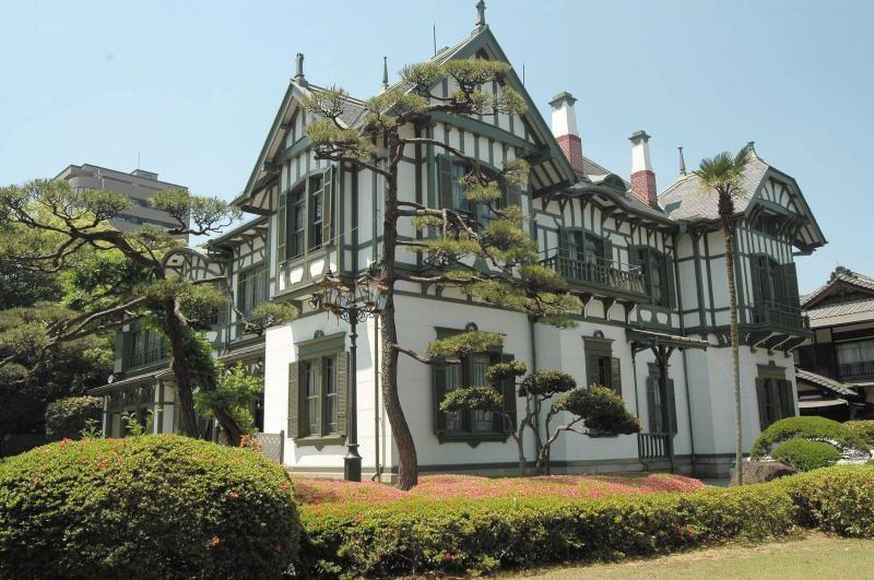 松本健次郎邸 洋館 建築 西洋建築