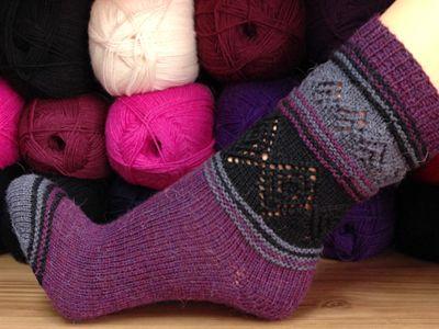 Socke *DonnaRocco | Knit socks | Pinterest | Stricken, Socken ...