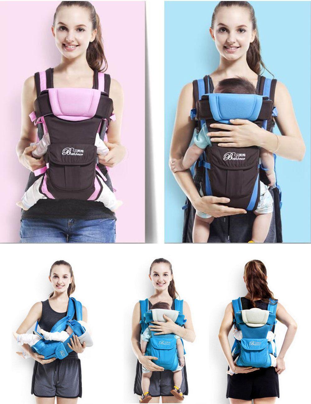 73b0ba16103  19.99 AUD - Bethbear Multipurpose Adjustable Buckle Mesh Wrap Baby Carrier  Backpack For Baby  ebay  Home   Garden