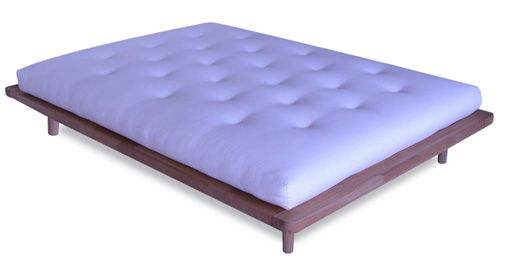 Zentai Platform With Rounded Corners Bed Frame Tatami