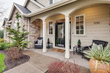 Front Porch Arches Traditional Porch Front Porch Porch Appeal