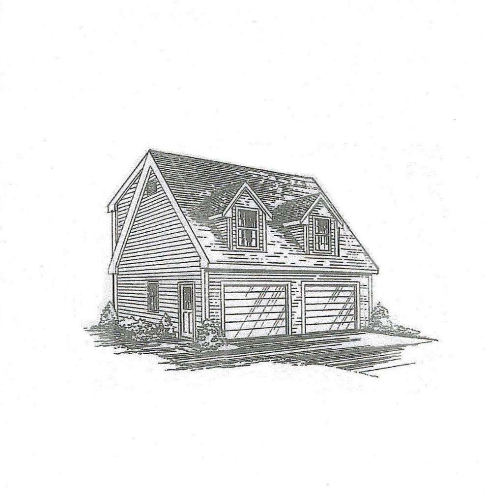 24x24 Home Addition: Details About 24 X 24 2 Car TD Full Shed Loft & Ext RS