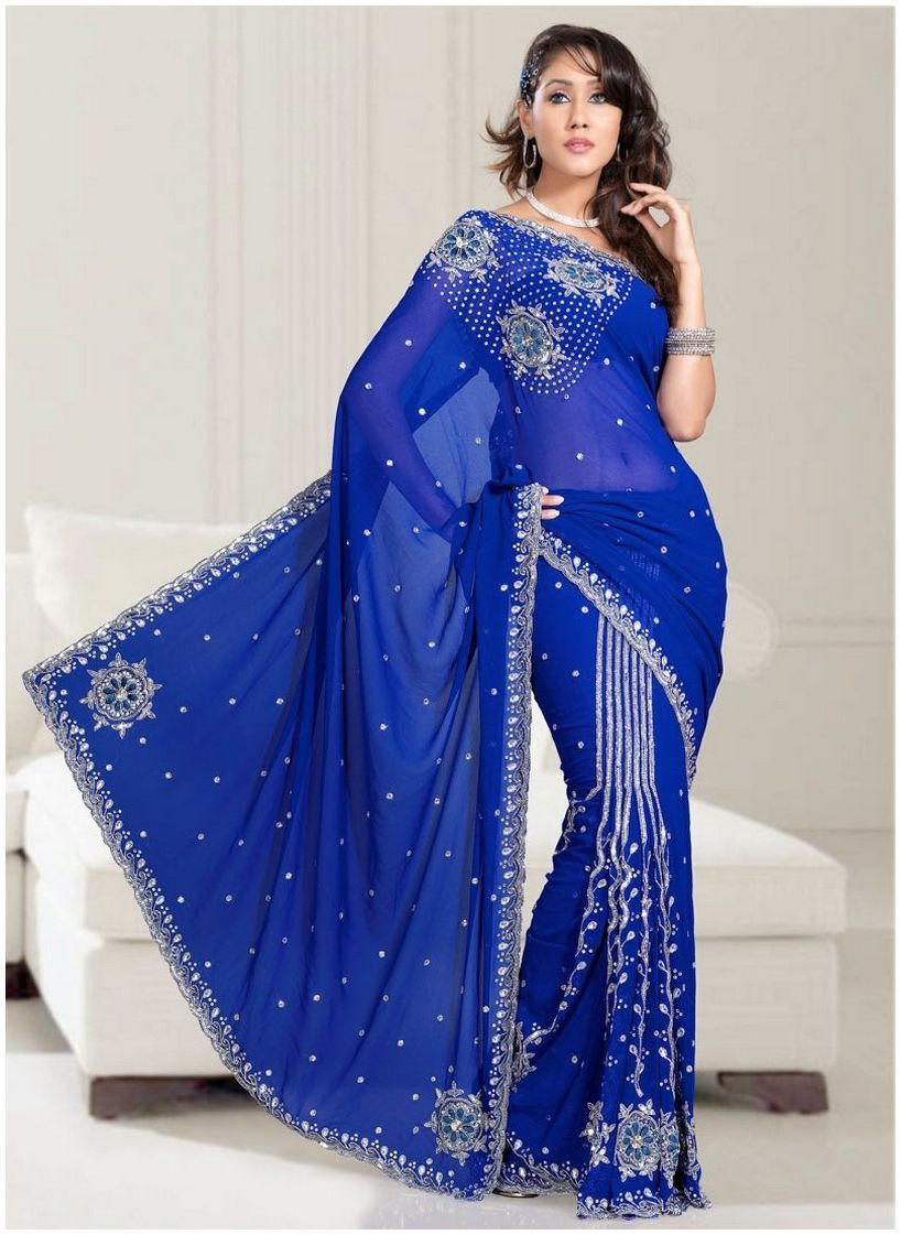 Bridesmaid dresses in royal blue indian top 50 royal for Royal blue and white wedding dresses