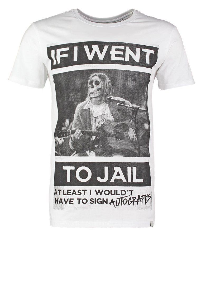 Zalando Heren Zwembroek.Shine Original T Shirt Print White Zalando Be Voor Vk Tje