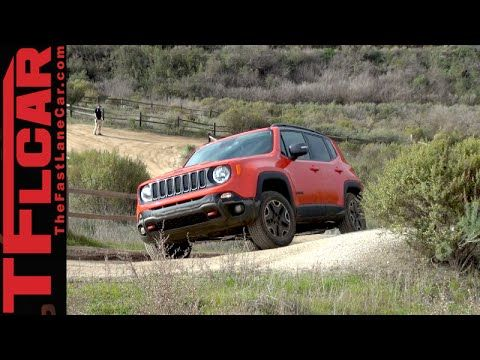 2015 Jeep Renegade Trailhawk Offroad Aerial Shots Youtube