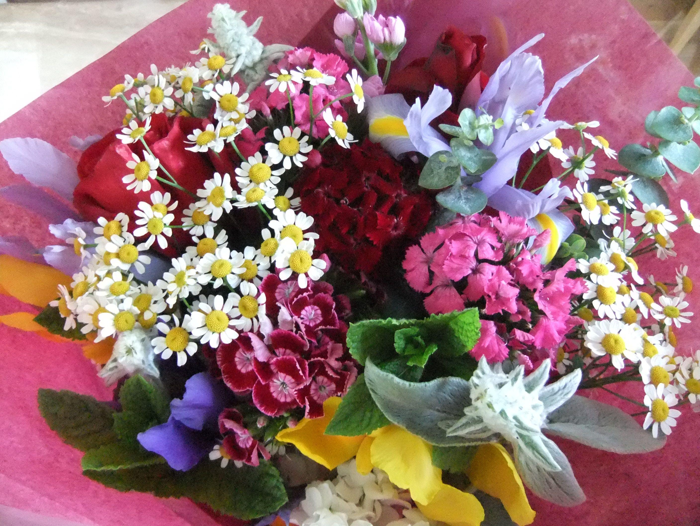 Thank You Bouquet Seasonal English Country Garden Flowers By Honey