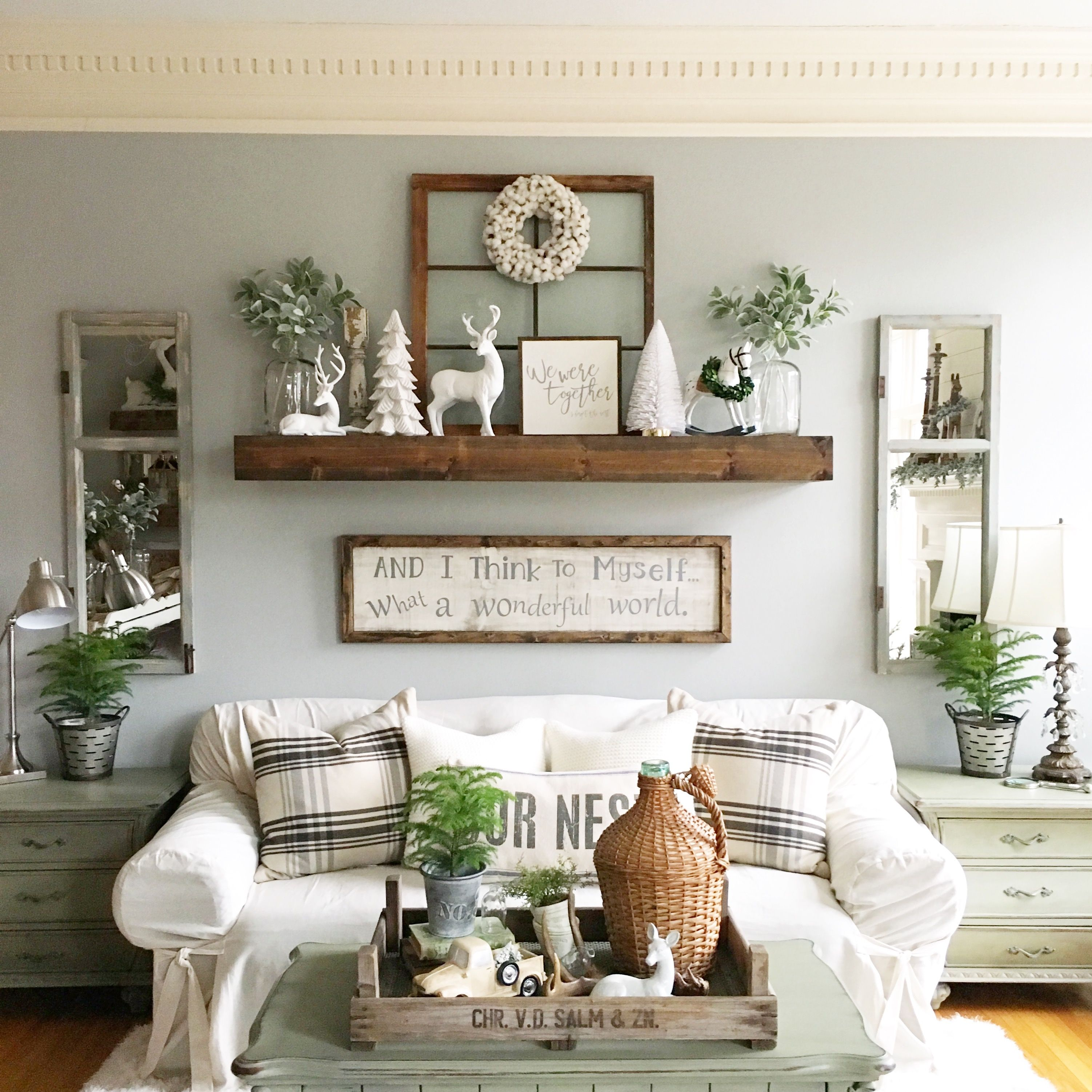 This Diy Shelf Was So Worth Making It's A Favorite Wall Feature Fair Fun Living Room Ideas Inspiration