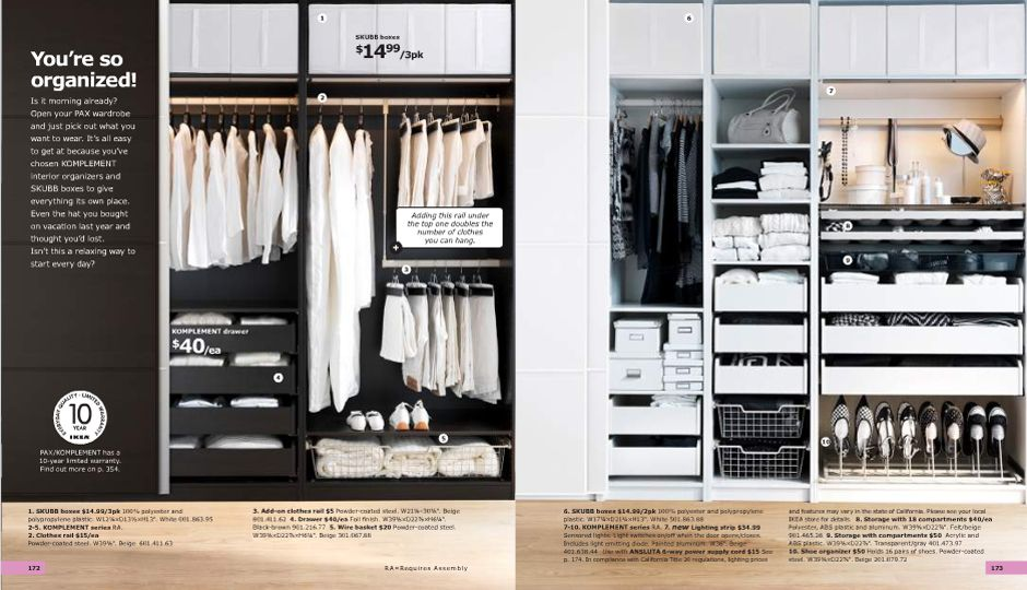 R Charming Ikea Usa Closet. 17 Best Images About Closets On Pinterest |  Closet Organization, The Closet And Storage Cubes