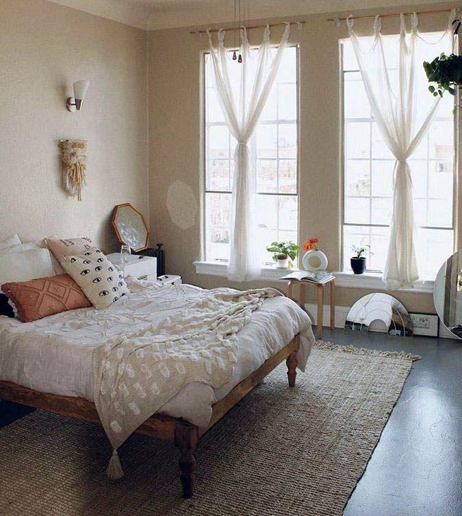 Urban style - modern bedroom: the spirit of a metropolis ...