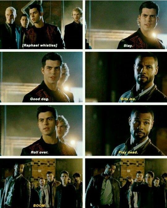 Season 1 Episode 9: Raphael, Luke, Simon | Shadow Hunter