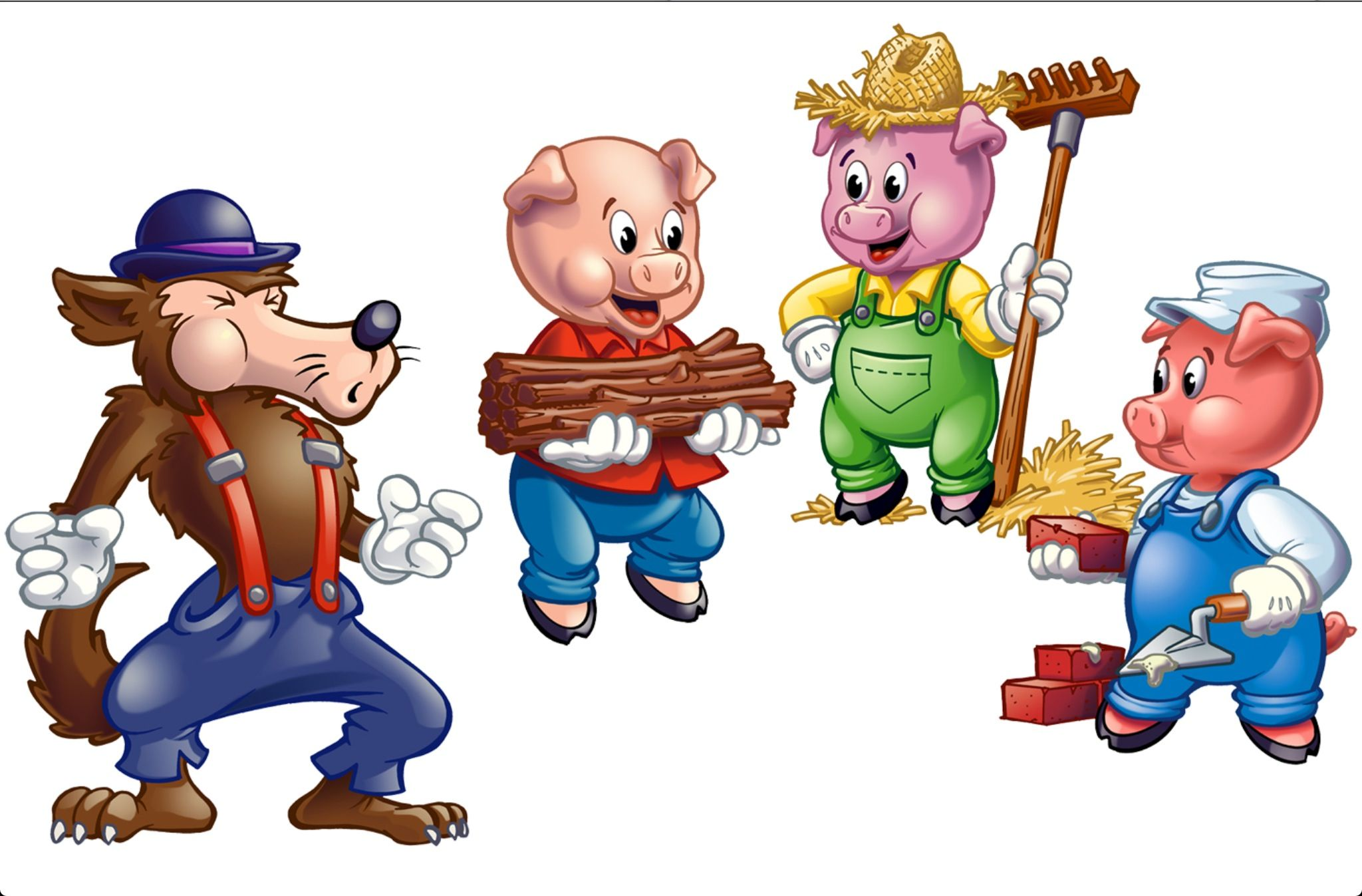 The Tree Little Pigs
