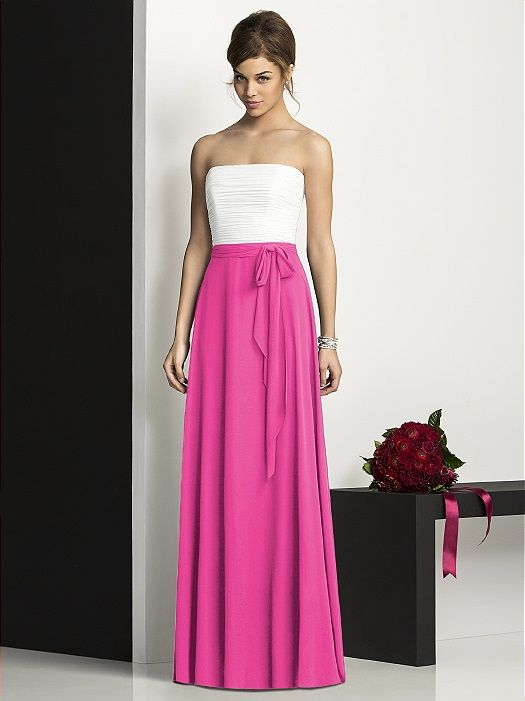 After Six Bridesmaids Style 6677 http://www.dessy.com/dresses/bridesmaid/6677/?color=fuchsia&colorid=17#.UyOd22ZlBoM