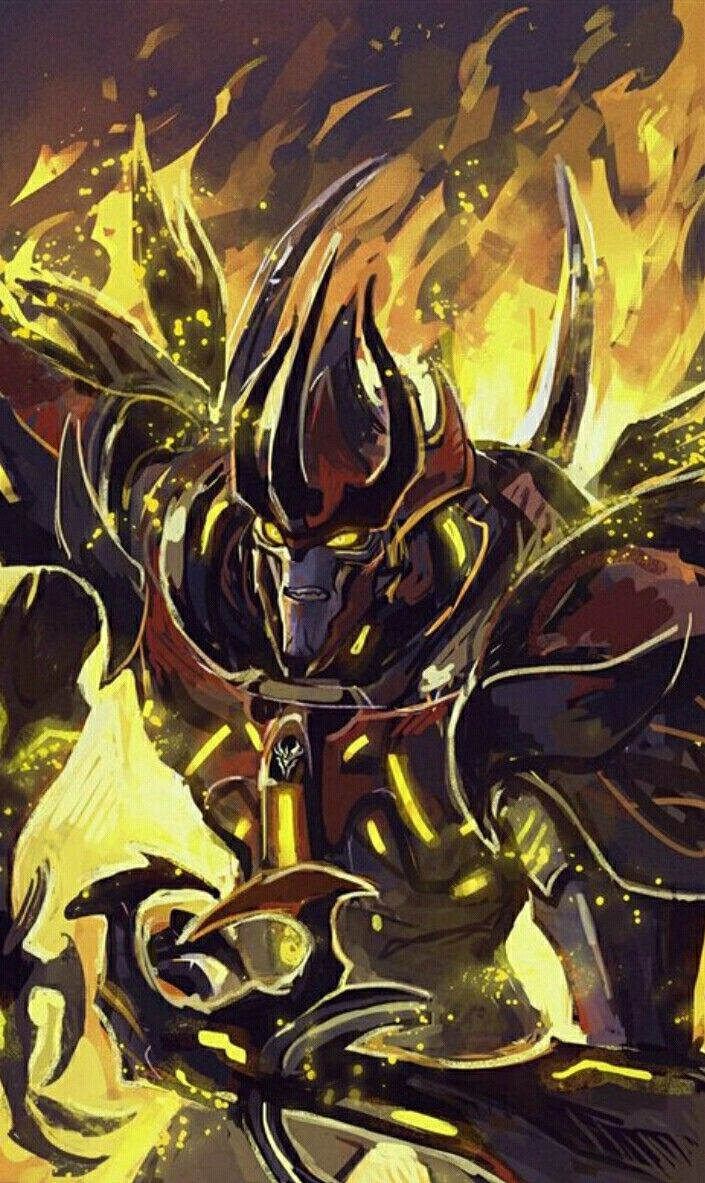 Predaking | Anime Fairy Tail | Transformers art