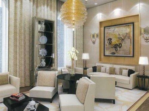 Bon Decent Interior In Mukesh Ambani House