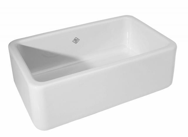 Above In My Seattle Remodel I Used Shaw S Original 3018 Fireclay A Front Sink From Rohl It Clic Farmhouse Still Individually Made