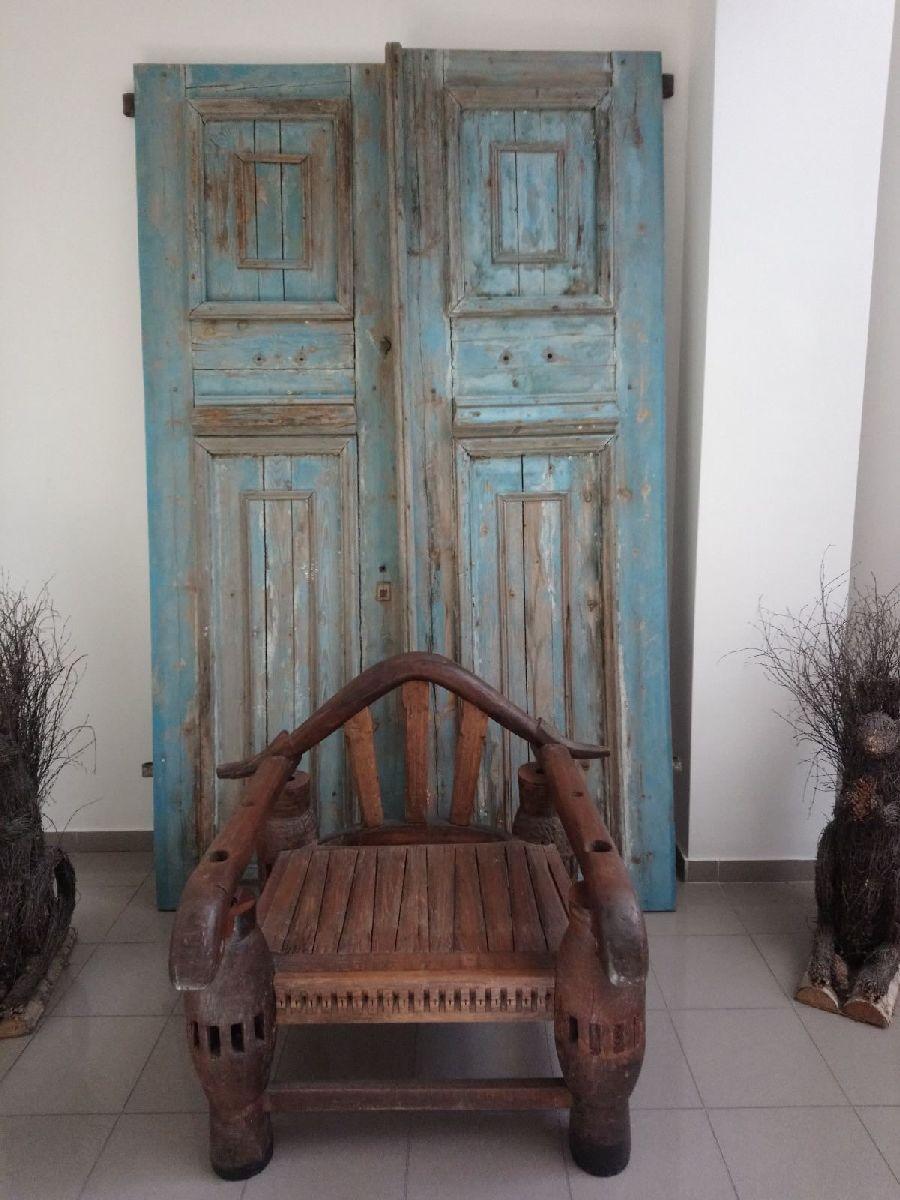 wooden door Antique 2.5 by 1.5