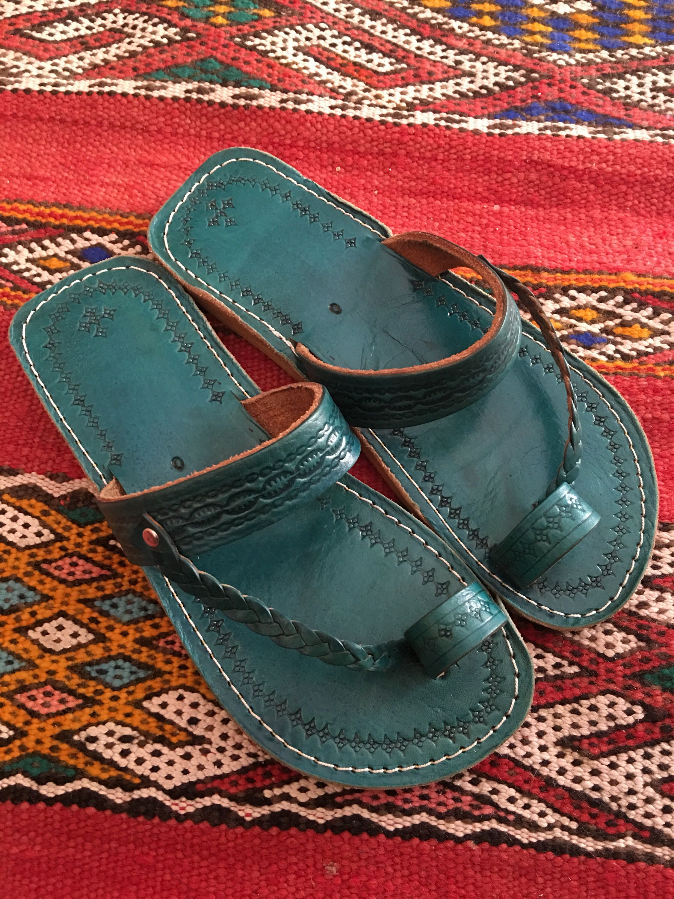 d6944ba537cf5 Pin by MarocDecorCo on Etsy Shop | Leather sandals, Sandals, Braided ...