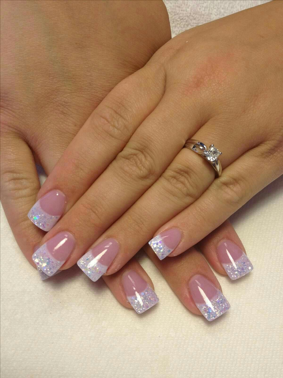 30+ best ideas about frenchtip glitters nailart | Nails and Nail Art ...