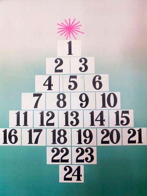 Small Acorns diy christmas advent calendars Holiday Pinterest