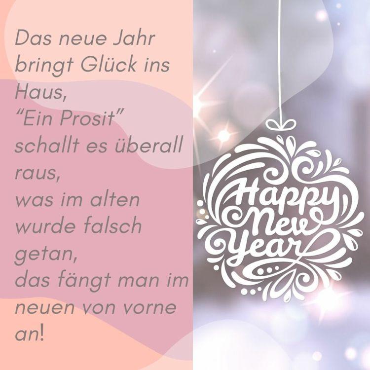 40 Schone Und Lustige Silvesterspruche Und Neujahrsspruche Zum Versenden Fur Freunde Verwandte Und Kollegen