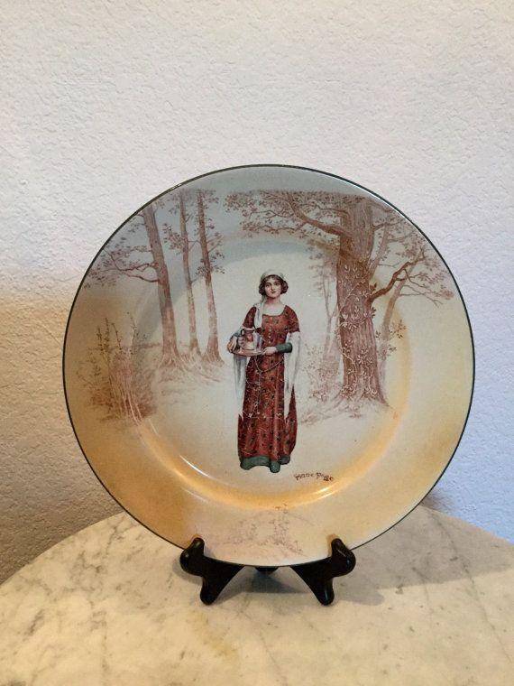 Antique Impressive And Beautiful Royal Doulton by Mitesoro777 & Antique Impressive And Beautiful Royal Doulton Decorative Plate ...