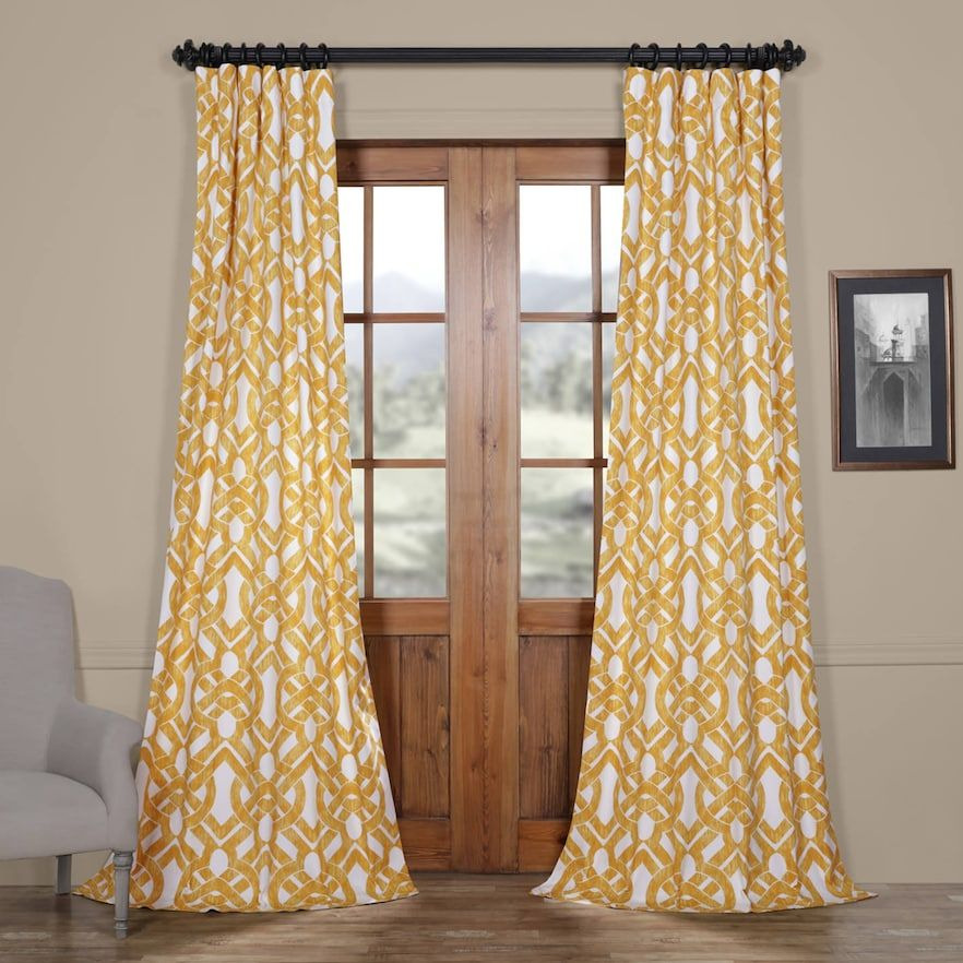 Eff Celtic Cotton Twill Curtain Curtains Panel Curtains Room