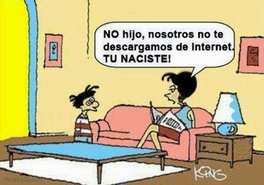 Chiste gráfico, Humor en español, Relaciones humor