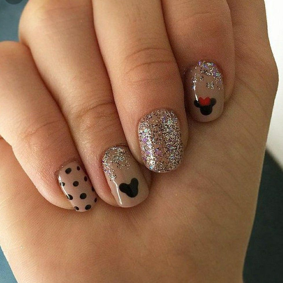 Disney nails | DisneyBound | Pinterest | Disney nails