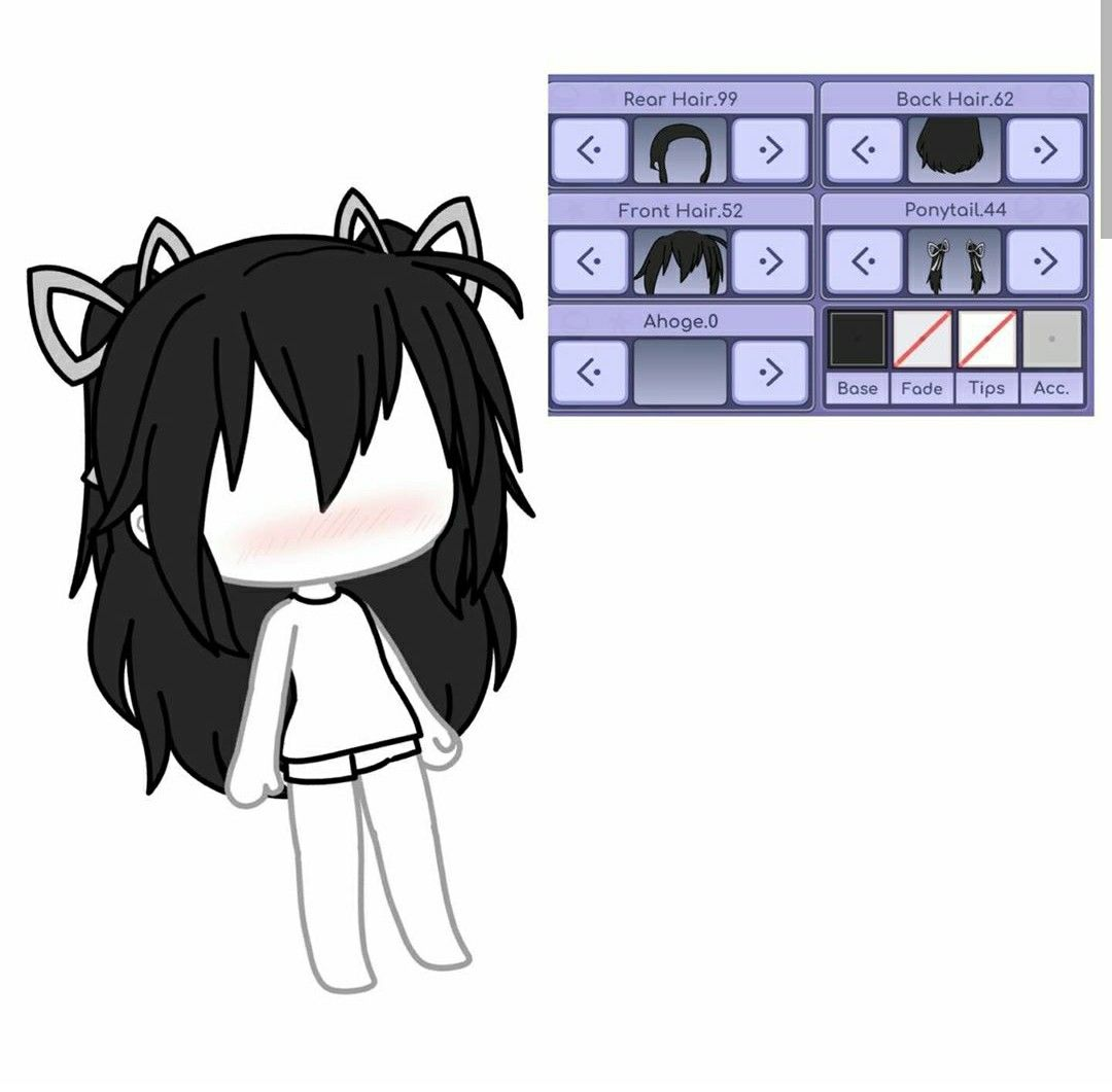 Gacha Gachalife Gachastudio Gachaedits Gachalifeedit Gachaedit Gachalifeediting Gachaverse In 2020 Drawing Anime Clothes Cute Anime Character Cute Anime Chibi