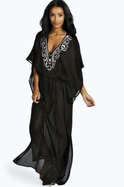 69ba09d37db32 Khloe Embellished Maxi Kaftan Dress at boohoo.com | summer. | Maxi ...