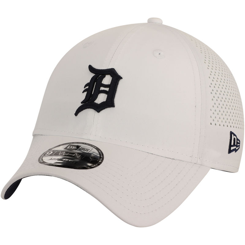 factory authentic cheapest price arrives Detroit Tigers New Era Perforated Pivot 9TWENTY Adjustable Hat ...