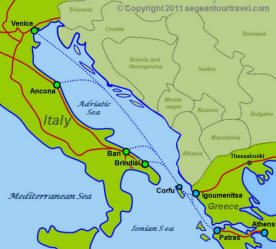 map of greece and italy - Google Search | Favorite Places ...