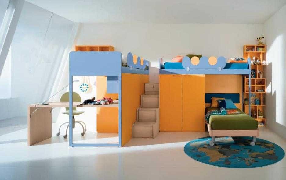 Lit Mezzanine Enfants Maison Design Wiblia Impressionnant De