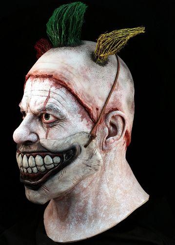 twisty the clown deluxe halloween mask