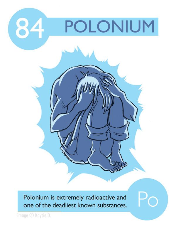 periodic table elements experiments in character design - Periodic Table Experiments