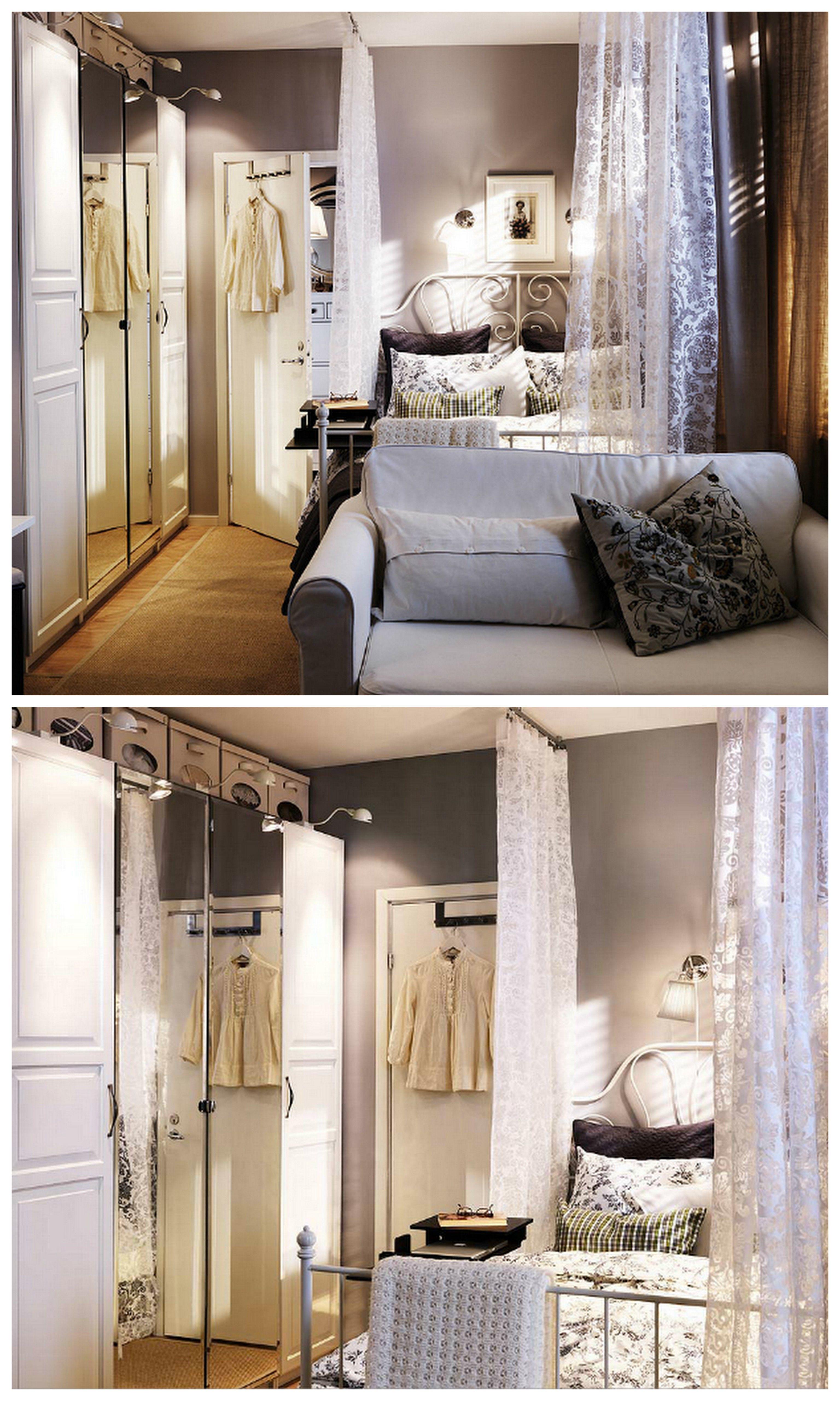 IKEA Liervik bed. Photos from IKEA catalog.   Bedrooms   Pinterest