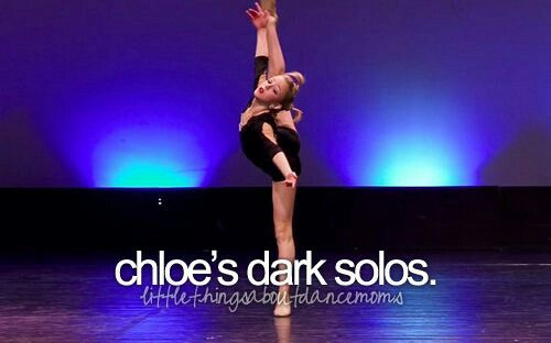 Chloe is good at any solo she does