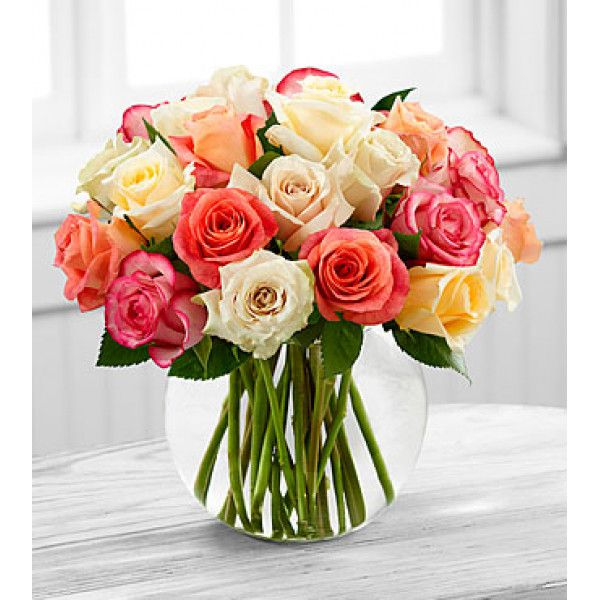 create a sweet and stunning arrangement with roses | Rose Flowers ...