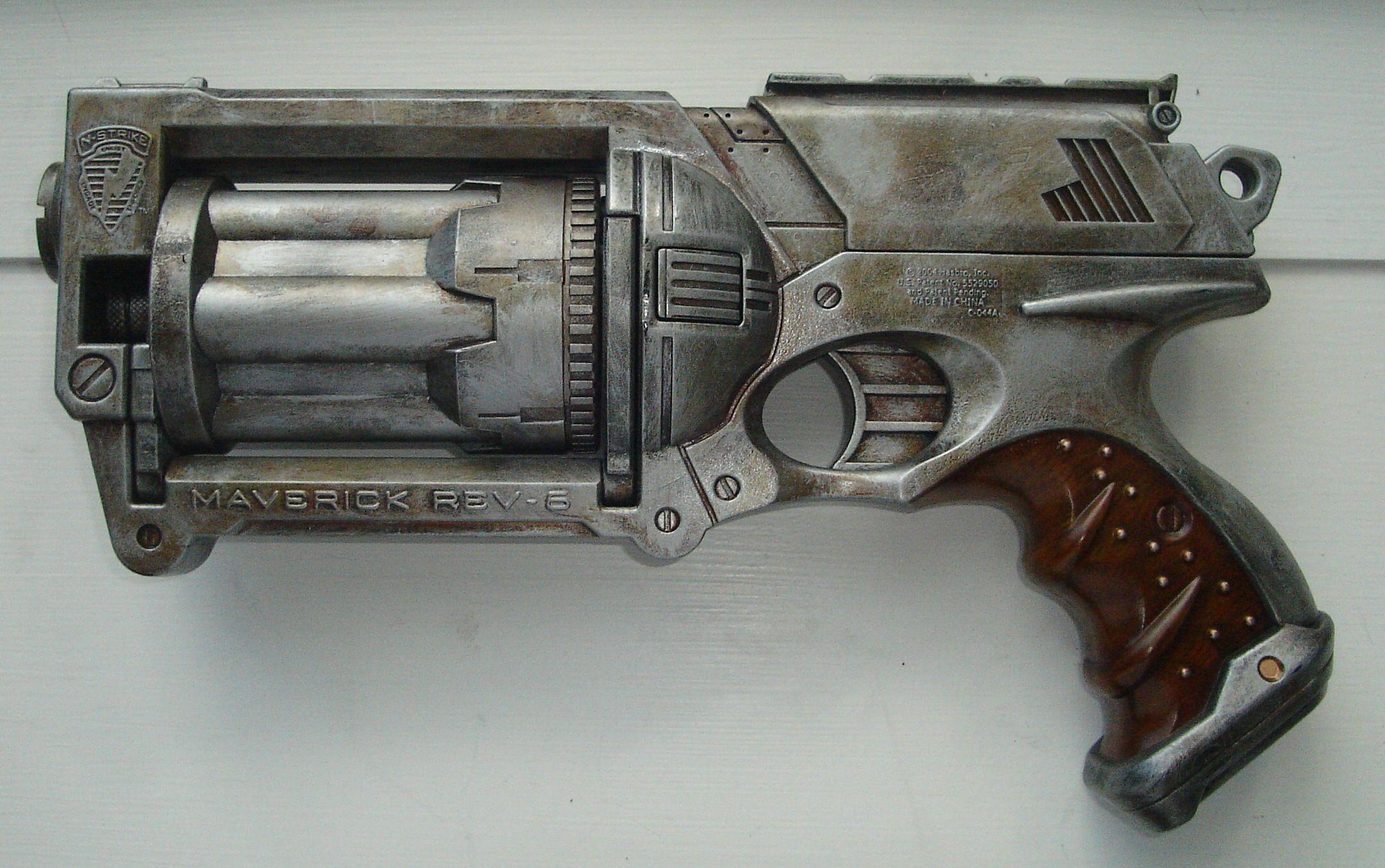Dieselpunk Maverick nerf gun modification via Creation of a DieselPunk -  Dieselpunks
