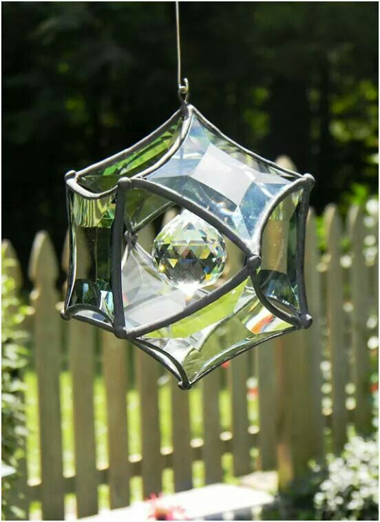 The Perfect Gift For The Gardener Who Has Everything (except A Beveled  Glass Orb Ornament