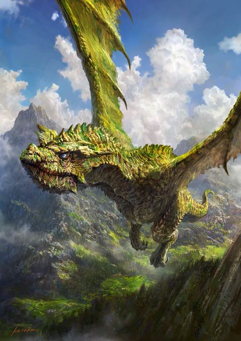 Giant Creatures, What An Overwhelming Force! - pixiv Spotlight