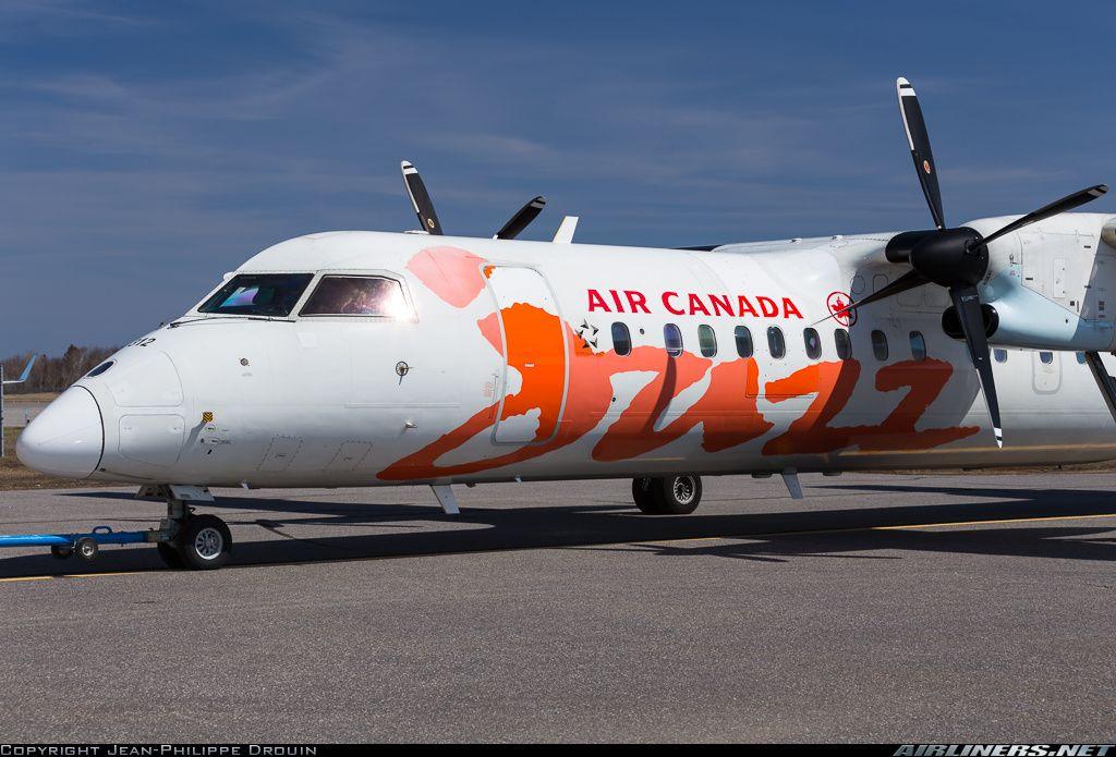 Air Canada JazzMore De Havilland Canada DHC8311 Dash 8